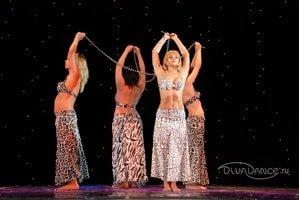 афро-стиль для танца живота